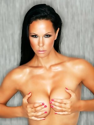 Laly in Black and Tan pics ~ SexyNakedModels.com